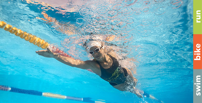 Besser und schneller Kraulschwimmen